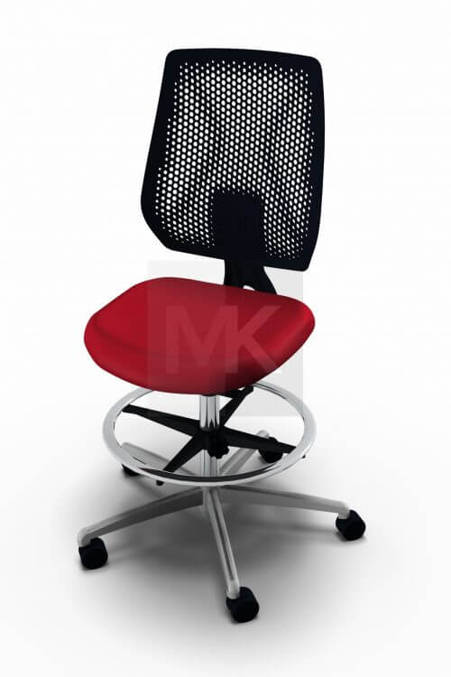 Dauphin Speed-o Desk baliestoel zwart