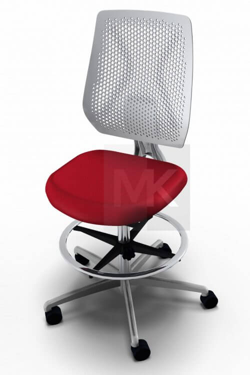 Dauphin Speed-o Desk baliestoel wit